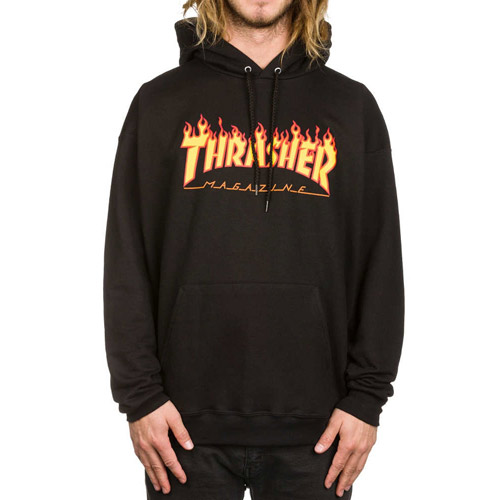 Sweat à capuche THRASHER Flame