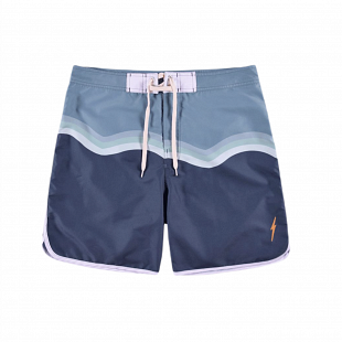 Boardshort LIGHTNING BOLT Smooth Bleu