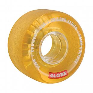 Pack 4 roues GLOBE Bruiser Cruiser 58mm Clear Honey