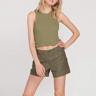 Short VOLCOM Army Whaler Army Green Combo