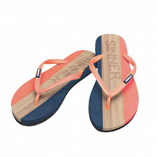 Tongs Femme SINNER Capitola Coral