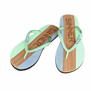 Tongs Femme SINNER Capitola Ladies Flip Flops Turquoise