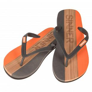 Tongs Homme SINNER Capitola Flip Flops Orange