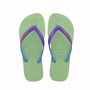 Tongs Femme HAVAIANAS Top Mix Hydro Green