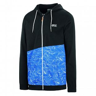 Sweat PICTURE Albury Zip Hoodie Waves