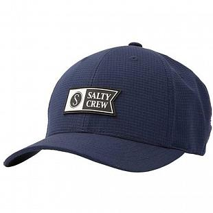 Casquette SALTY CREW Alpha Tech 6 Panel Navy