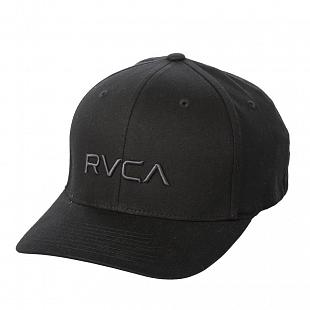 Casquette RVCA Flex Fit Black