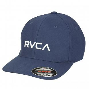 Casquette RVCA Flex Fit Blue