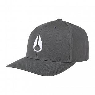 Casquette NIXON Wings White Charcoal