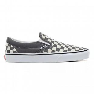 Chaussures VANS Slip-On checkerboard White & Grey