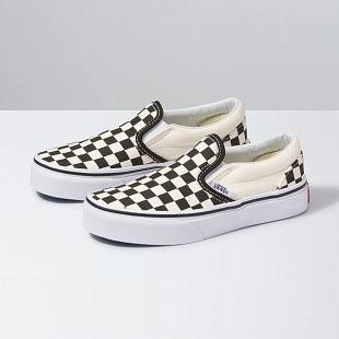 Chaussures Classic Slip On VANS Kids Checkerboard
