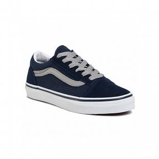 Chaussures VANS Old Skool Kids Blue & Grey