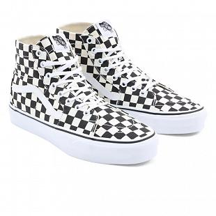 Chaussures VANS Checkerboard Sk8 Hi Tapered