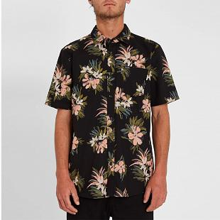 Chemise Homme VOLCOM Floral With Cheese Black