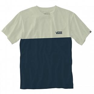 T-shirt VANS Colorblock Dress Blues / Seed Pearl