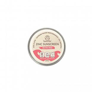 Crème Solaire SUNTRIBE Mini Sunscreen Face & Sports SPF30 Red