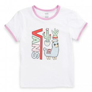 T-shirt VANS Girls Llama Lover Ringer