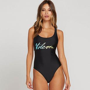 Maillot 1 pièce VOLCOM Fresh Ink ight Blue