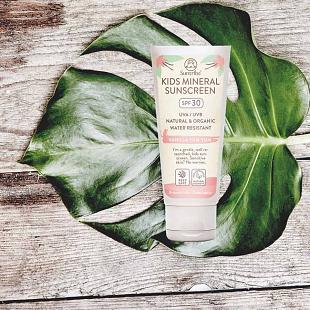 Crème solaire SUNTRIBE Natural Mineral 30 SPF Kids