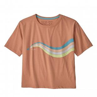 T-shirt PATAGONIA Women's Psychedelic Slider Organic Cotton Easy