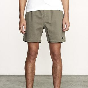 Short RVCA Escape Elastic Olive