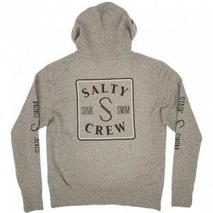 Sweat SALTY CREW Squared Up Zip Fleece