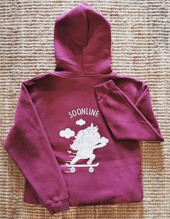 Sweat à capuche Enfant SOONLINE Licorne