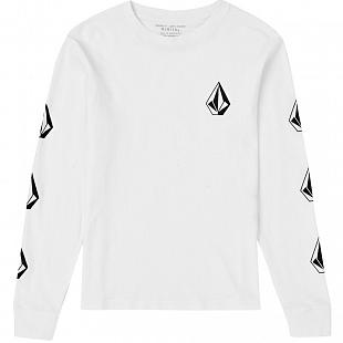 T-shirt Enfant VOLCOM Deadly Stone White