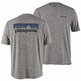 T-shirt Homme PATAGONIA graphique Capilene® Cool Daily Gris