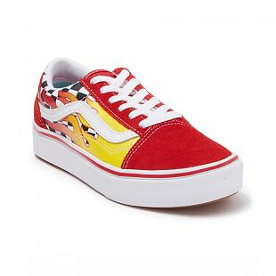 Chaussures VANS comfycush Old Skool Flame Enfants