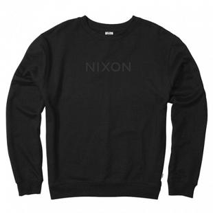 Sweat NIXON Wordmark Crew Black