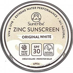 Zinc Sunscreen 45g SUNTRIBE White