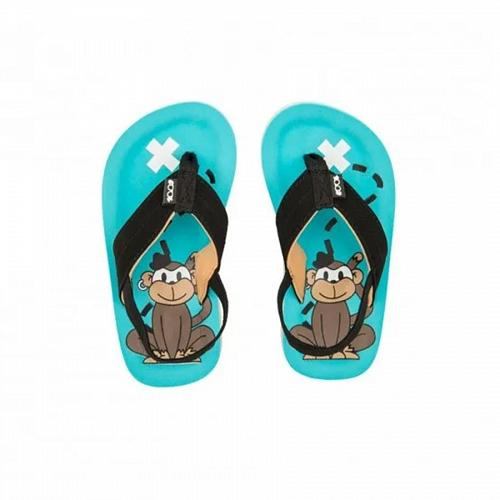 Tongs Enfants COOLSHOE Pirate Turquoise