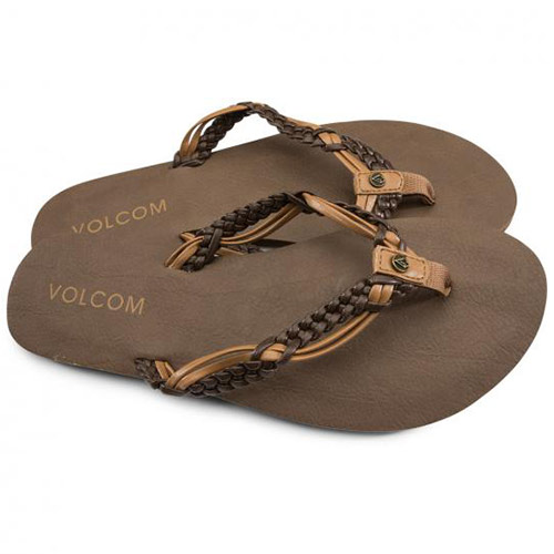 Tongs VOLCOM Tipsy Brown Combo