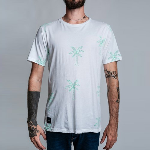 T-shirt BARON Homme Palm Tree