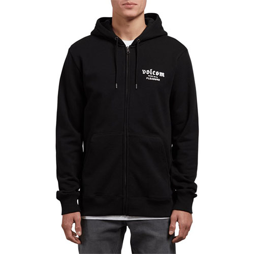 Sweat à capuche zippé Enfant VOLCOM Supply Stone Zip Black