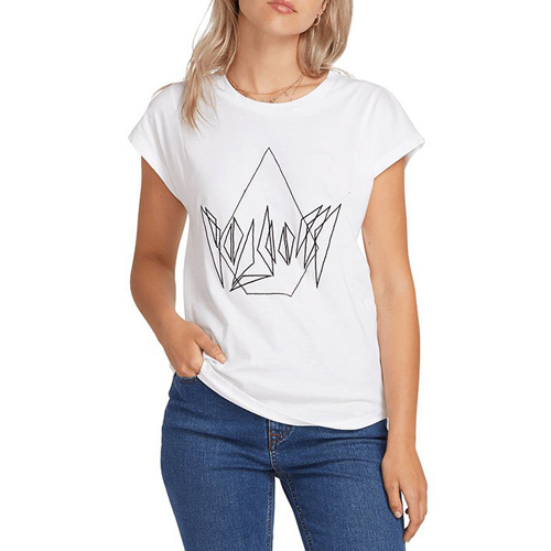 T-shirt VOLCOM Dare Tee White
