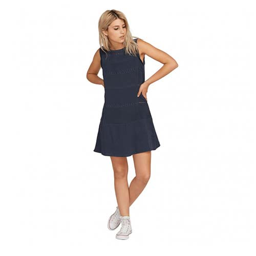 Robe VOLCOM Laci Stori Dress Sea Navy