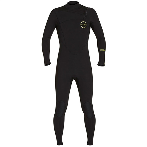 Combinaison Homme XCEL Comp 3/2mm Chest Zip Black
